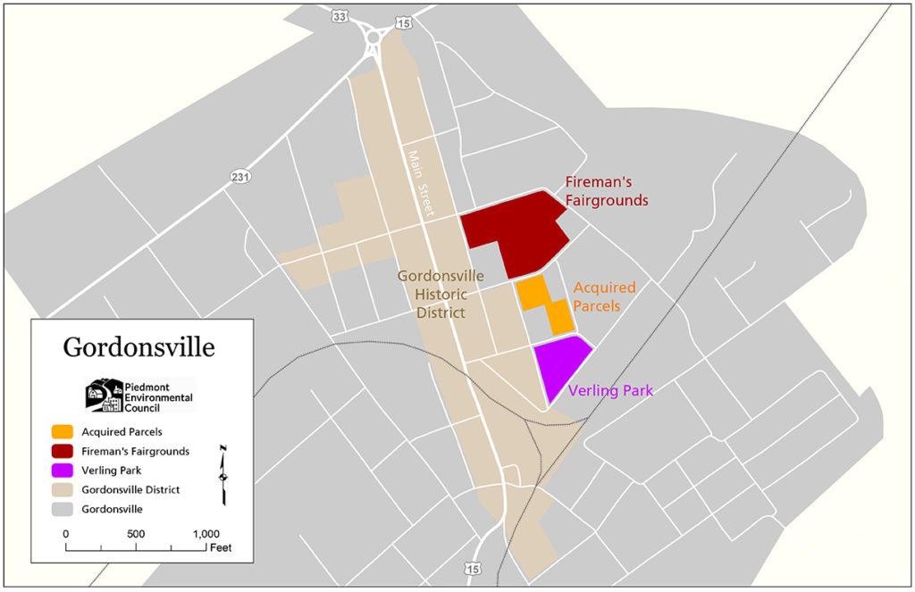 Gordonsville-acquisitions-map-2020